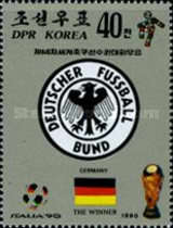 [West Germany, Winners of Football World Cup - Italy, type DKA]