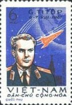 [The 2nd Space Flight by German Titov, type CT]