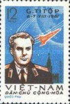 [The 2nd Space Flight by German Titov, type CT1]