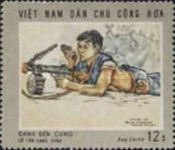 [South Vietnam - Land and People - Contemporary Paintings, Typ QU]