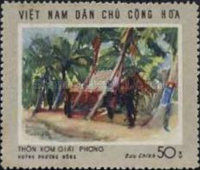 [South Vietnam - Land and People - Contemporary Paintings, Typ QZ]