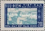 [Commissioning of the Cotton Factory of Nam Dinh, type R1]