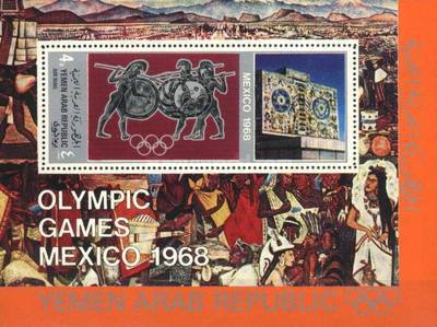 [Airmail - Olympic Games - Mexico, Typ ]