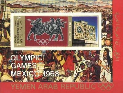 [Airmail - Olympic Games - Mexico, type ]
