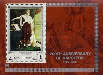 [Airmail - The 200th Anniversary of the Birth of Napoleon Bonaparte, 1769-1821, type ]