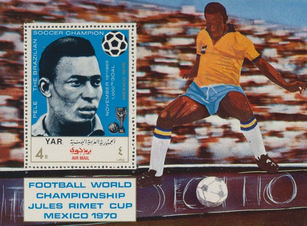 [Airmail - Football World Cup - Mexico - Previous Host Countries, Typ ]