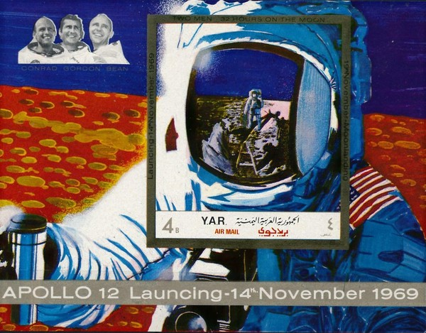 [Airmail - Two Manned Moon Landing - Apollo 12, type ]