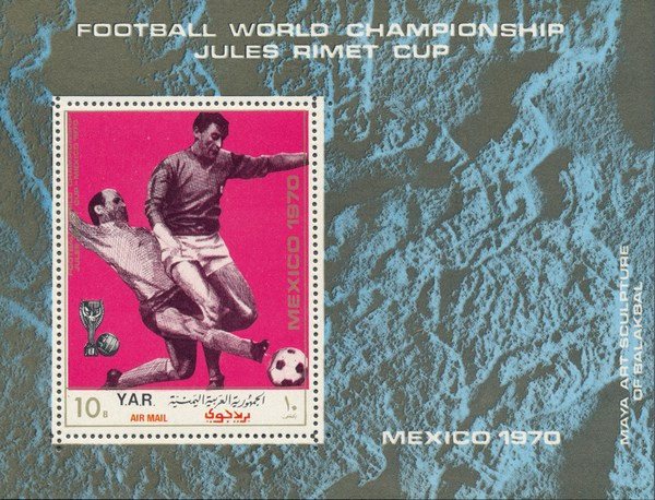 [Airmail - Football World Cup - Mexico, Typ ]