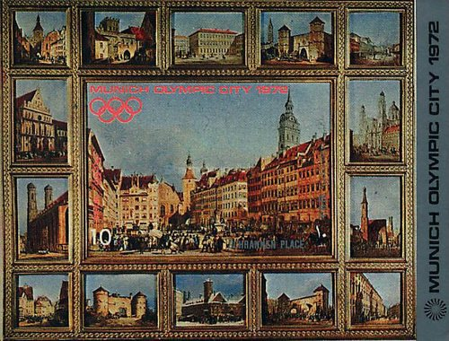 [Airmail - Buildings in the Olympic Media City of Munich, type ]