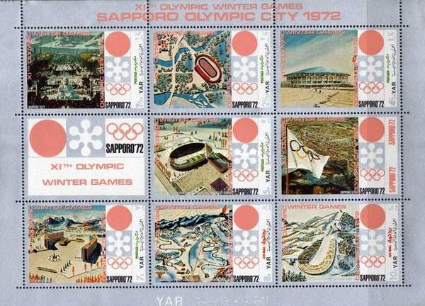 [Winter Olympic Games 1972 - Sapporo, Japan, type ]