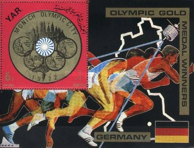 [Airmail - German Olympic Champion, type ]