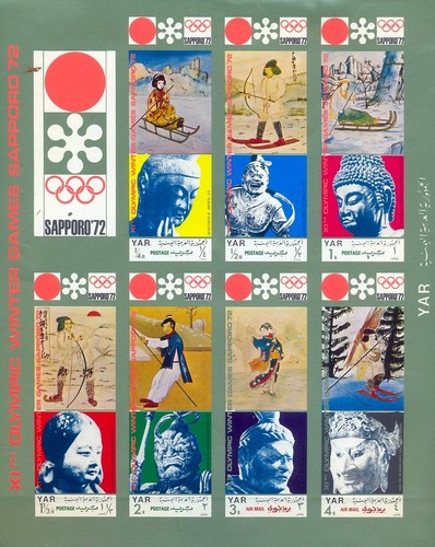 [Winter Olympic Games 1972 - Sapporo, Japan, Typ ]