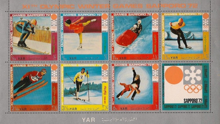 [Winter Olympic Games 1972 - Sapporo, Japan - Winter Sports Disciplines in the Modern Age, Typ ]