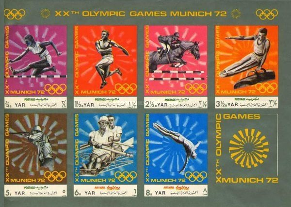 [Olympic Games - Munich 1972, Germany - Sports Disciplines of the Modern Age, Typ ]