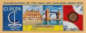 [Inauguration of the New Headquarters of the Universal Postal Union in Bern - Europa Stamps 1956-1970, Typ AAC1]