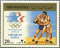 [Airmail - Olympic Games - Los Angeles 1984, USA, type ATY]