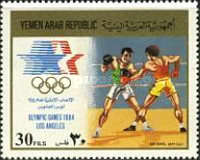 [Airmail - Olympic Games - Los Angeles 1984, USA, type ATZ]