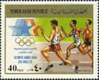[Airmail - Olympic Games - Los Angeles 1984, USA, type AUA]