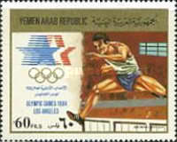 [Airmail - Olympic Games - Los Angeles 1984, USA, type AUB]