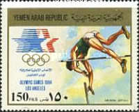 [Airmail - Olympic Games - Los Angeles 1984, USA, type AUC]