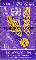 [Anti T.B. Campaign - Issues of 1963 Overprinted