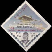 [Airmail - President Kennedy - Issues of 1963 Overprinted