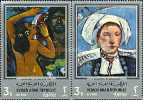 [Airmail - Paintings by Paul Gauguin, type QF]