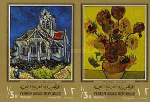 [Paintings by Vincent van Gogh - Gold Frame, type QL1]