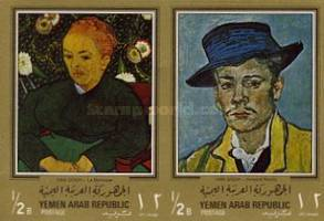 [Paintings by Vincent van Gogh - Gold Frame, Typ QN1]
