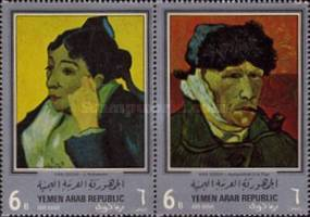 [Airmail - Paintings by Vincent van Gogh, type QR]