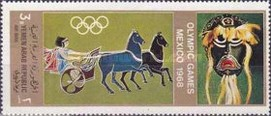 [Airmail - Olympic Games - Mexico, Typ TD]