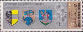 [Coat of Arms of the Venues of the Winter Olympic Games, Typ TV]