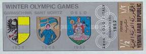 [Coat of Arms of the Venues of the Winter Olympic Games, Typ TV1]