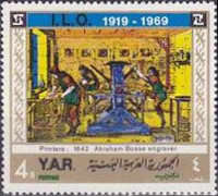 [The 50 Anniversary of the International Labour Organization, type WI]