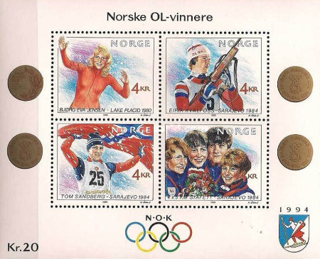 [Winther Olympic Games - Norwegian Gold Medal Winners, Typ ]