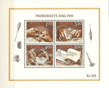 [Day of the stamp, type ]