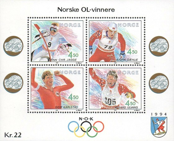 [Winter Olympic Games - Norwegian Gold Medal Winners, Typ ]