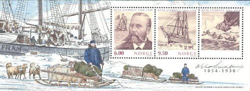 [The 150th Anniversary of the Birth of Otto Sverdrup, 1854-1930 - Joint Issue with Canada, Typ ]