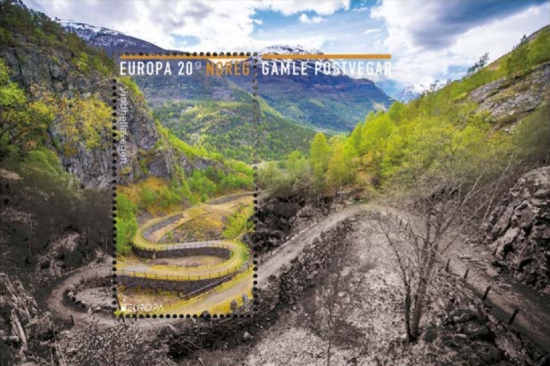 [EUROPA Stamps - Ancient Postal Routes, Typ ]