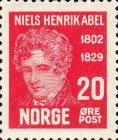 [The 100th Anniversary of the Death of Niels Henrik Abel, type AA2]