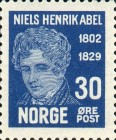[The 100th Anniversary of the Death of Niels Henrik Abel, type AA3]
