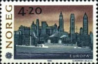 [EUROPA Stamps - The 500th Anniversary of the Discovery of America, Typ AAF]