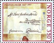 [The 350th anniversary of the Postal Service, Typ ADG]