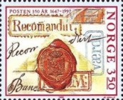 [The 350th anniversary of the Postal Service, Typ ADH]