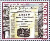 [The 350th anniversary of the Postal Service, Typ ADK]