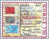 [The 350th anniversary of the Postal Service, Typ ADN]
