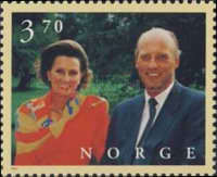 [The 60th Anniversary of the King and Queen, Typ AFD]