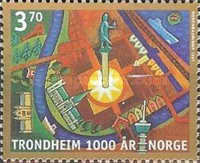 [The 1000th anniversary of the city of Trondheim, Typ AFS]