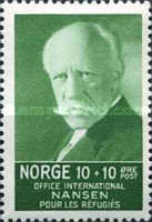 [Fridtj of Nansen Charity stamps for the benefit of The Nansen Office for refugees, Typ AJ]