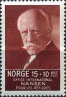 [Fridtj of Nansen Charity stamps for the benefit of The Nansen Office for refugees, Typ AJ1]